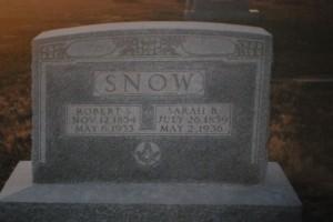 rssnow grave